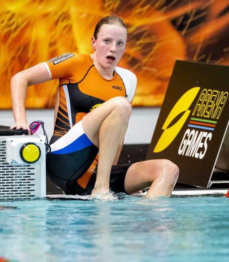 Triatlete Maya Kingma uit Breda knap derde in World Cup Tsjechië