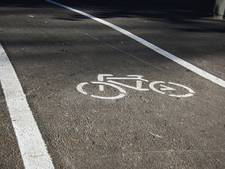 Fietspad Ommen tegen ander verkeer beveiligd