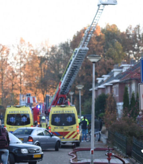 Eerste hulp verleend na woningbrand in Wierden