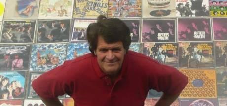 Kees Krechting - de aardigste man van Wageningen - kreeg een verjaardagskaart van The Stones