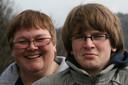 Hessel Keurhorst met zijn moeder Anja.