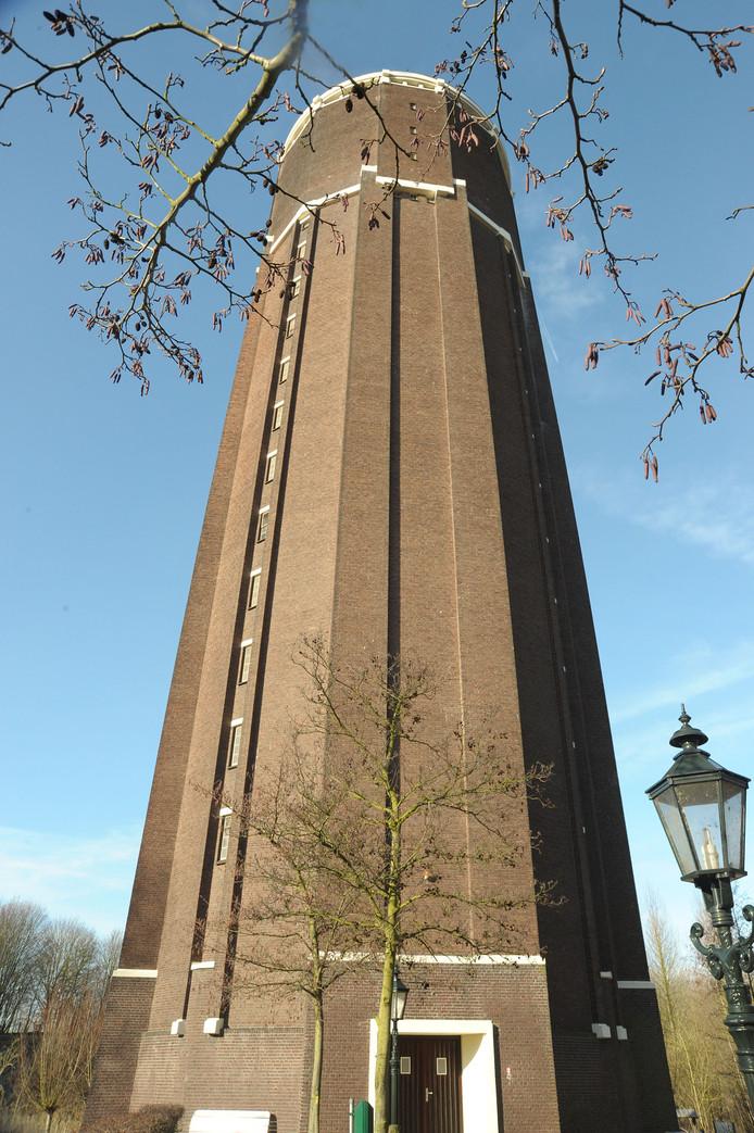 De watertoren van Axel.
