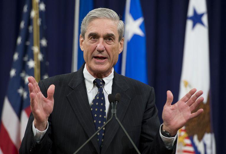 Voormalig FBI-directeur en speciaal aanklager Robert Mueller.  Beeld AFP