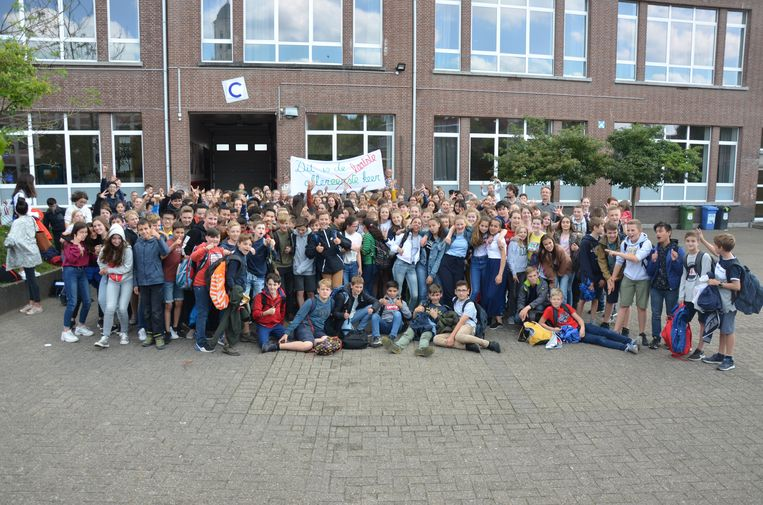 De eerstejaars van het SLC verhuizen van de C-blok van het Sint-Lodewijkscollege naar de campus Creo in de Heilig Hartlaan.