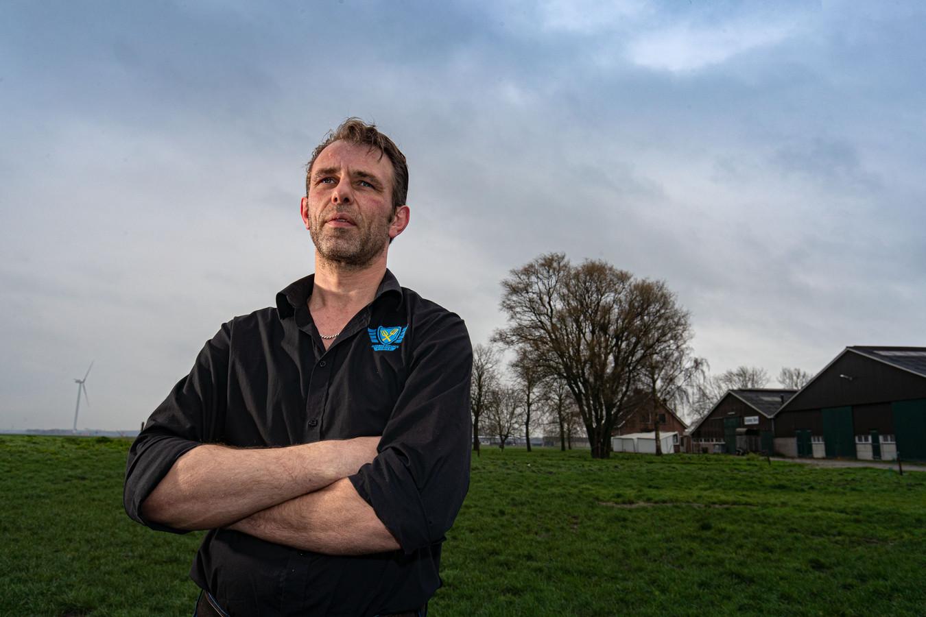 Zeewolde - Jeroen van Maanen uit Zeewolde van Farmers Defence Force. Editie ZL Foto Freddy Schinkel, IJsselmuiden © FS20200227