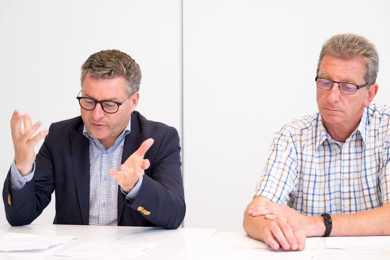 PUURS-SINT-AMANDS -Koen Van den Heuvel (CD&V) en Peter Van Hoeymissen (CD&V)