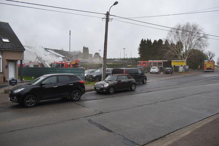 Dinsdagnamiddag woedde een zware brand in sportcomplex Velina.