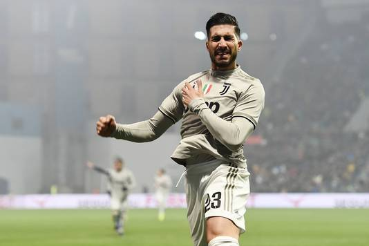 Emre Can draagt sinds dit seizoen het shirt van Juventus.