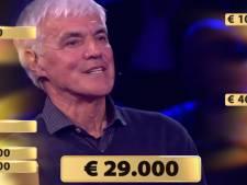Peter Zagers uit Zundert wint bij Miljoenenjacht 29.000 euro, na afslaan bod van 184.000