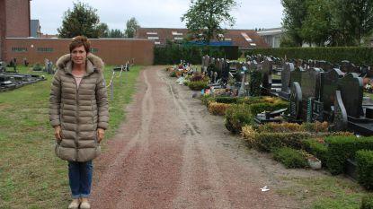 Begraafplaats Bentille krijgt nieuw hoofdpad