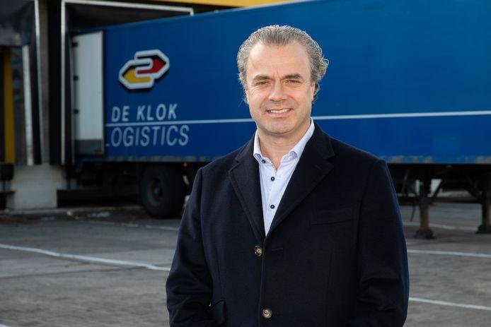 Remco Vos, directeur van De Klok Logistics. ,,Ze kunnen me gewoon bellen.''