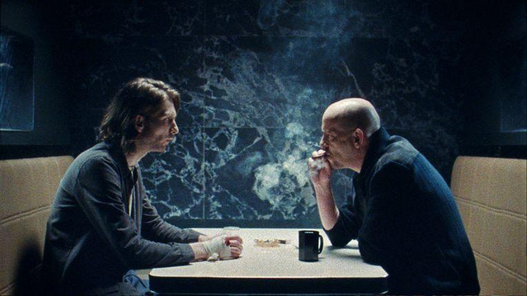 Vincent van der Valk als Alex en Bart Slegers als Serge in Nocturne. Beeld