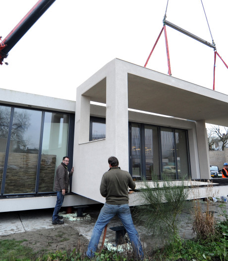 Cubicco-droomhuis aan diggelen na faillissement