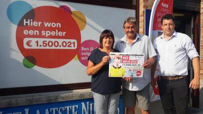 Eerste Lotto-miljonair van 2018 bij dagbladhandel Caroline