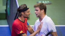 Geen puntje voor de eer: Harrison verslaat Bemelmans in slotduel Davis Cup