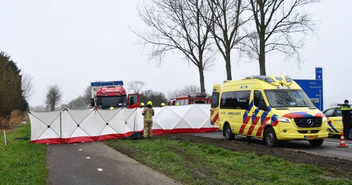 Dodelijk ongeval bij 's-Gravenpolder.