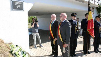 Burgemeester Pardaen en gouverneur Briers herdenken treinramp