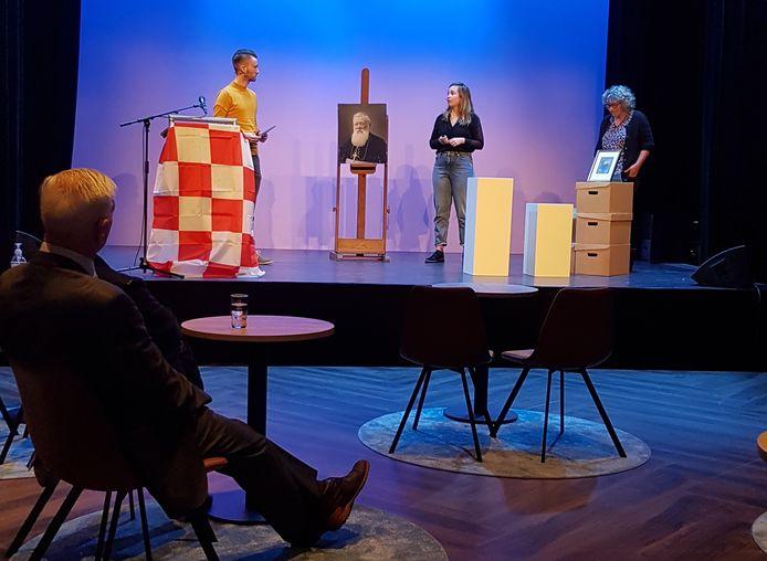Opnamen voor de Dag van de Brabantse Volkscultuur in De Kring (foto) en het Tongerlohuys.