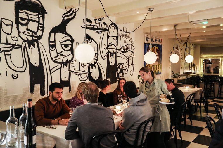 Restaurant Jaimie van Heije. Beeld Eva Plevier