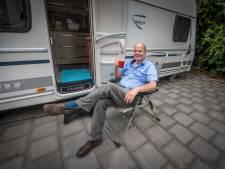 Dagenlang kamperen voor kavel op De Saller in Losser: 'Heb de tijd'