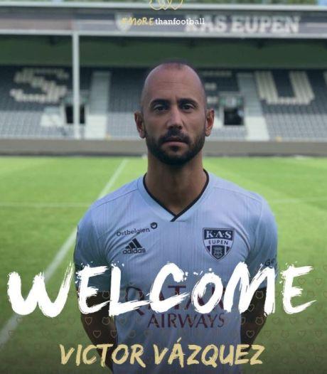 Victor Vazquez revient en Belgique et signe à Eupen