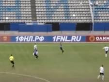 'Eddy Treijtel-momentje' in Rusland: Duif uit de lucht geschoten tijdens wedstrijd