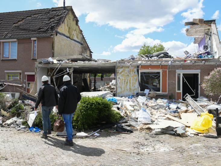 Explosie Lindenholt: politie doet buurtonderzoek, omwonenden likken wonden