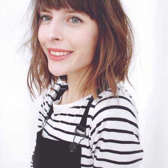 Beautyjournaliste Sophie Vereycken.