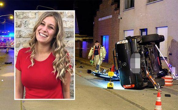 Charlotte Gysel kwam om het leven bij een zwaar ongeval.