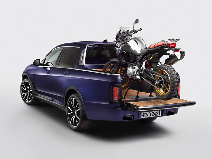 BMW X7 pick-up.