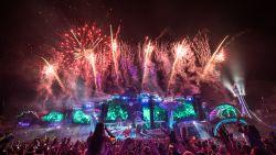 Indrukwekkend! Zo ziet het vuurwerk van Tomorrowland eruit vanuit de lucht