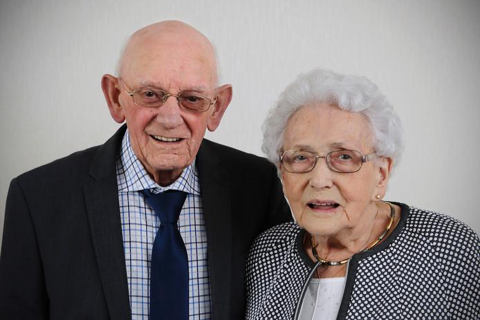 Janus Tiellemans en Martha Tiellemans-Heesakkers.