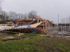 Huis in aanbouw ingestort in Emst: één gewonde