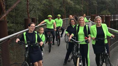 """Nieuwe fietscollectie en fietsboetiek rond 'Fietsen door de Bomen': """"Landmark doet gemeente bruisen"""""""
