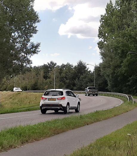 Proef met om en om rijden op Pakhuisviaduct tussen Ede en Veenendaal