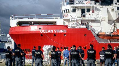 Italiaanse politie pakt twee migranten van Ocean Viking op voor mensenhandel