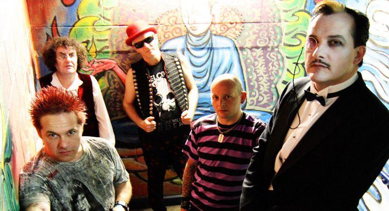 The Damned, één van de bands op Rebellion. Beeld The Damned