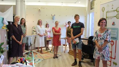 Eerste Vlaams-Brabantse Babytheek opent de deuren in Lennik