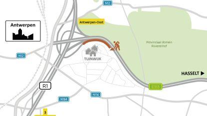 Eindelijk: nieuwe geluidsschermen langs E313 voor Borgerhoutse Tuinwijk