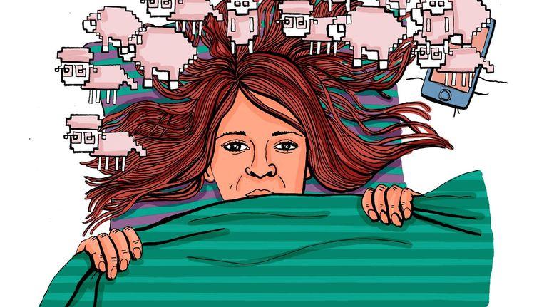 Een powernap geeft een productiviteitsboost, meer concentratie en meer creativiteit Beeld Hedy Tjin