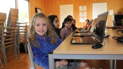Kinderen vieren creativiteit bot tijdens workshop Minecraft