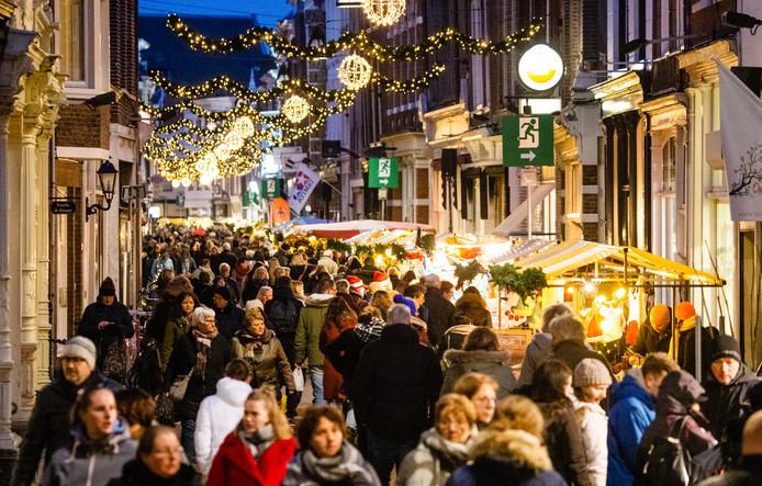 De Dordtse Kerstmarkt trekt doorgaans meer dan 300.000 bezoekers.