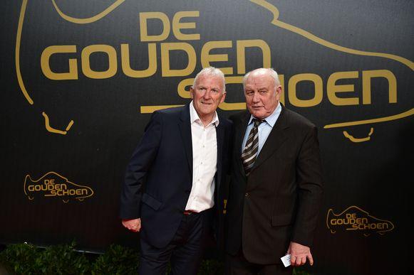 Julien Cools met Aimé Anthuenis.