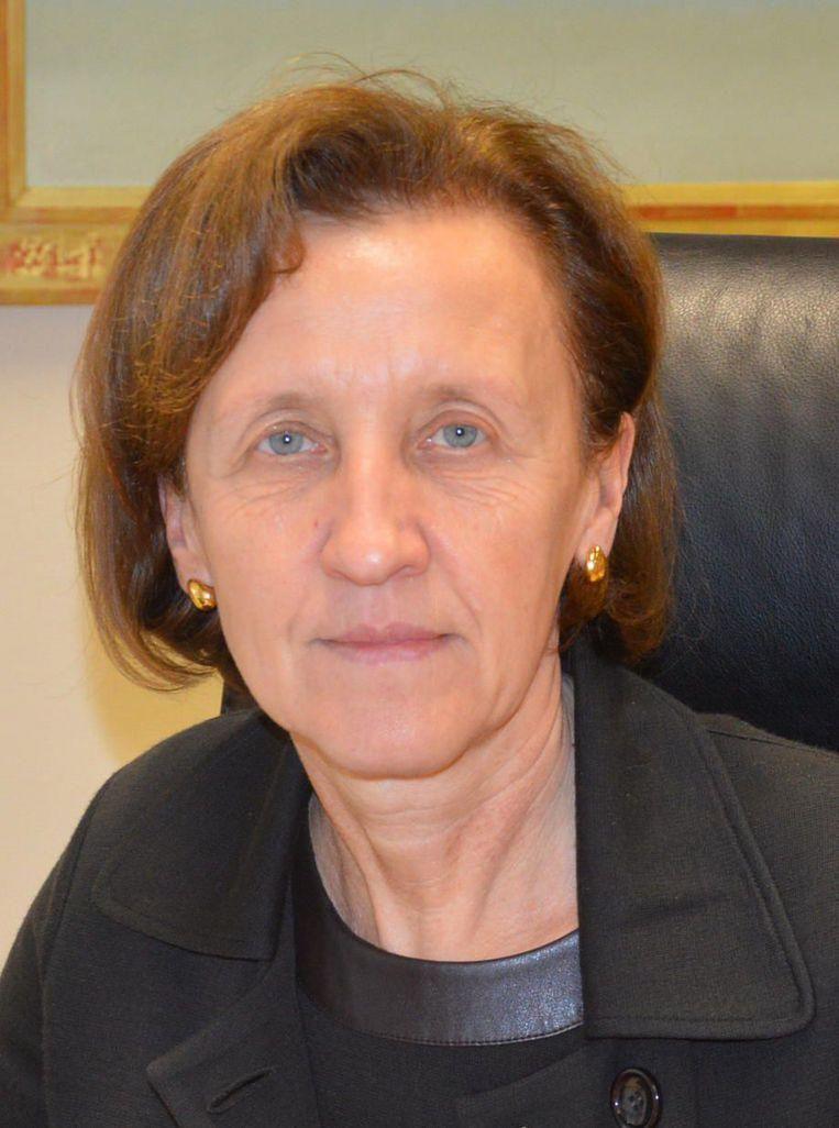 Secretaris Carine Coppens, hoofd van het stadspersoneel.