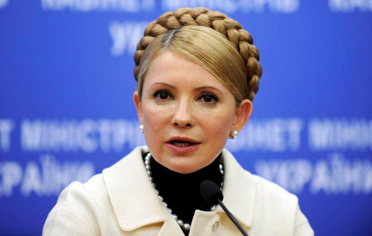Oud-premier Joelia Timosjenko