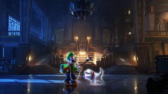 Luigi en zijn polterpup.