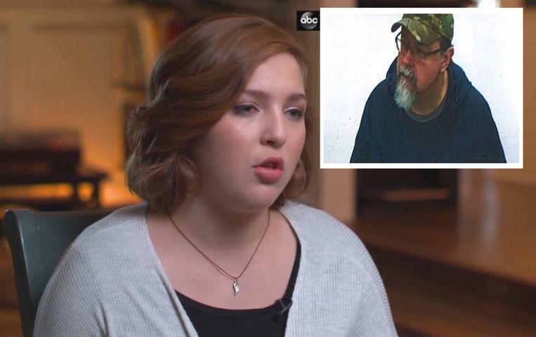 Elizabeth Thomas werd als 15-jarige ontvoerd door haar leraar Tad Cummins (50 ) (inzet).