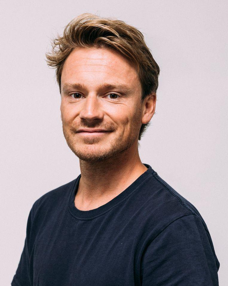 Sander Schimmelpenninck. Beeld Rebecca Fertinel