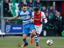 PEC Zwolle met herstelde Van Polen en zonder zieke Dekker tegen Ajax