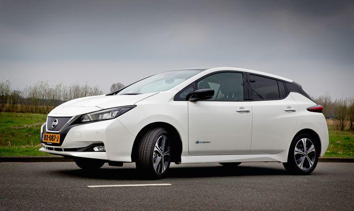 Nissan Leaf van de huidige generatie